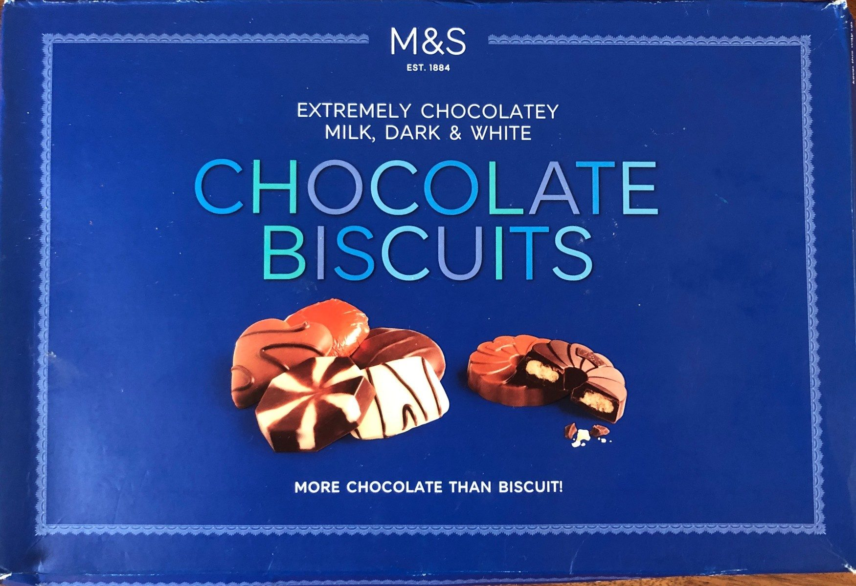 Chocolate biscuits - Product