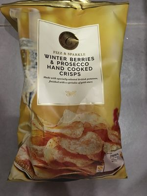 Winter Berries & Prosecco Hand cooked crisps - Product