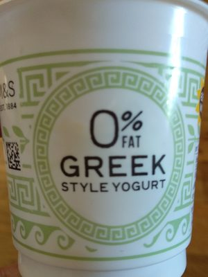 0% Fat Greek Style Yogurt - Product