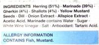 Rollmop Herrings - Ingredients