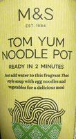 Tom Yum Noodle Pot - Product