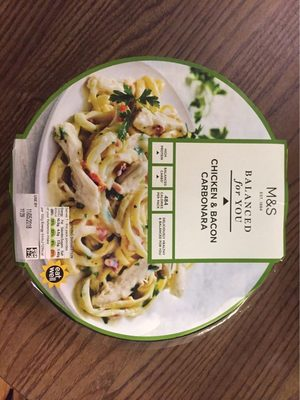 Chicken & Bacon Carbonara - Produit