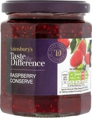 Taste the Difference Raspberry Conserve - Product - en