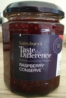 Taste the Difference Raspberry Conserve - Product