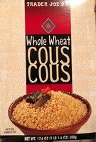 Whole wheat couscous - Product - en