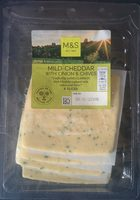 Mild Cheddar with Onions & Chives - Product - fr