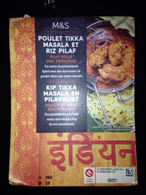Poulet Tikka Masala Et Riz Pilaf - Product - fr