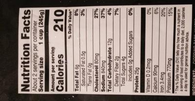 Cioppino Seafood Stew - Voedingswaarden