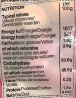 Dolly Mixtures - Nutrition facts - fr