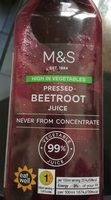 Beetroot juice - Product