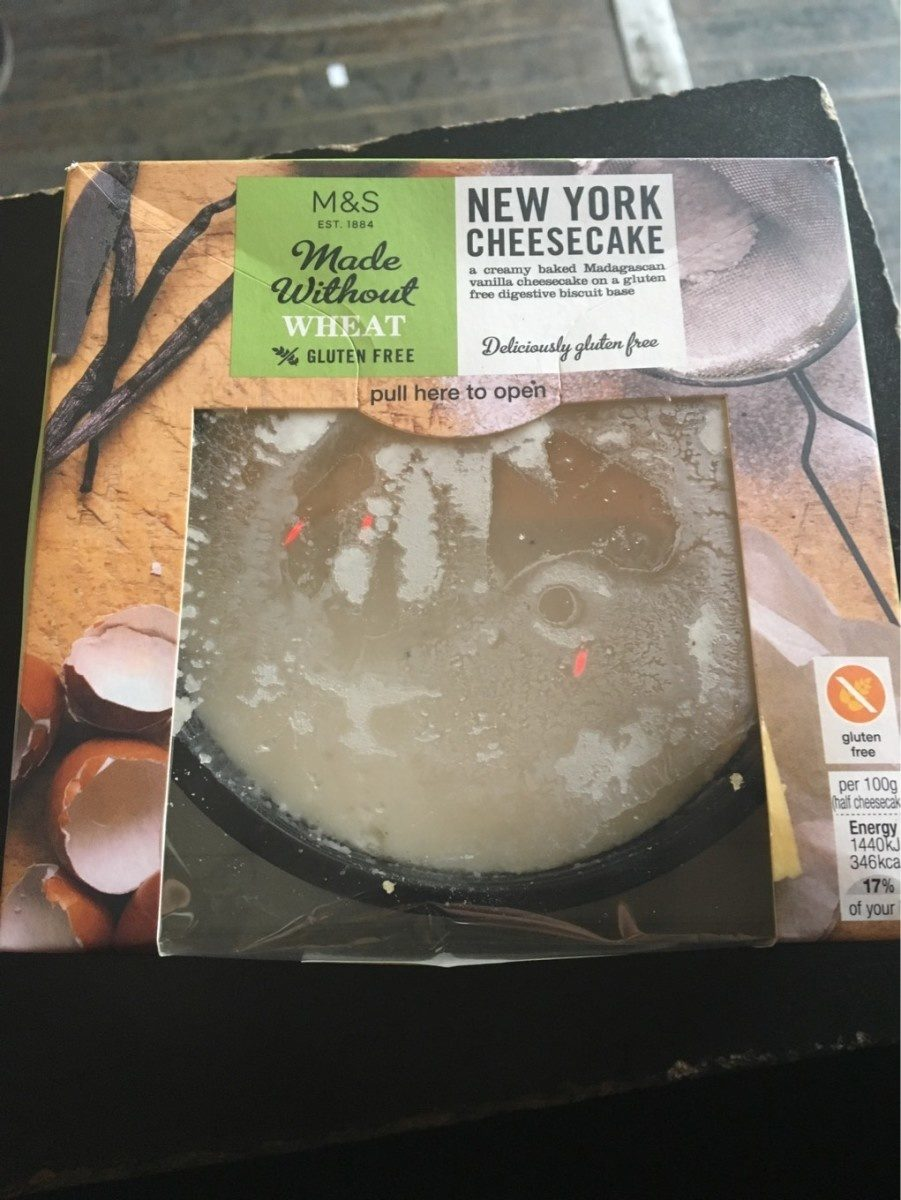 Made Without Wheat New York Cheesecake - Product
