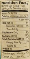Marinara sauce - Nutrition facts - en