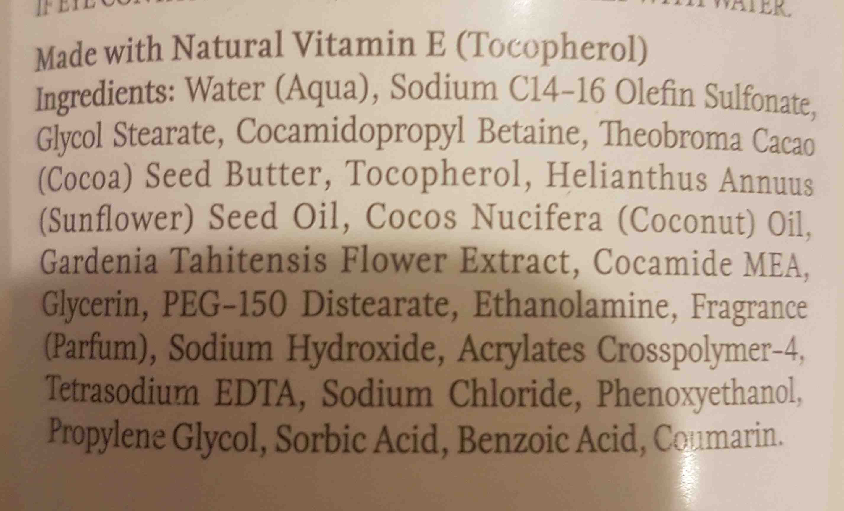 palmers coconut oil formula - Ingredients