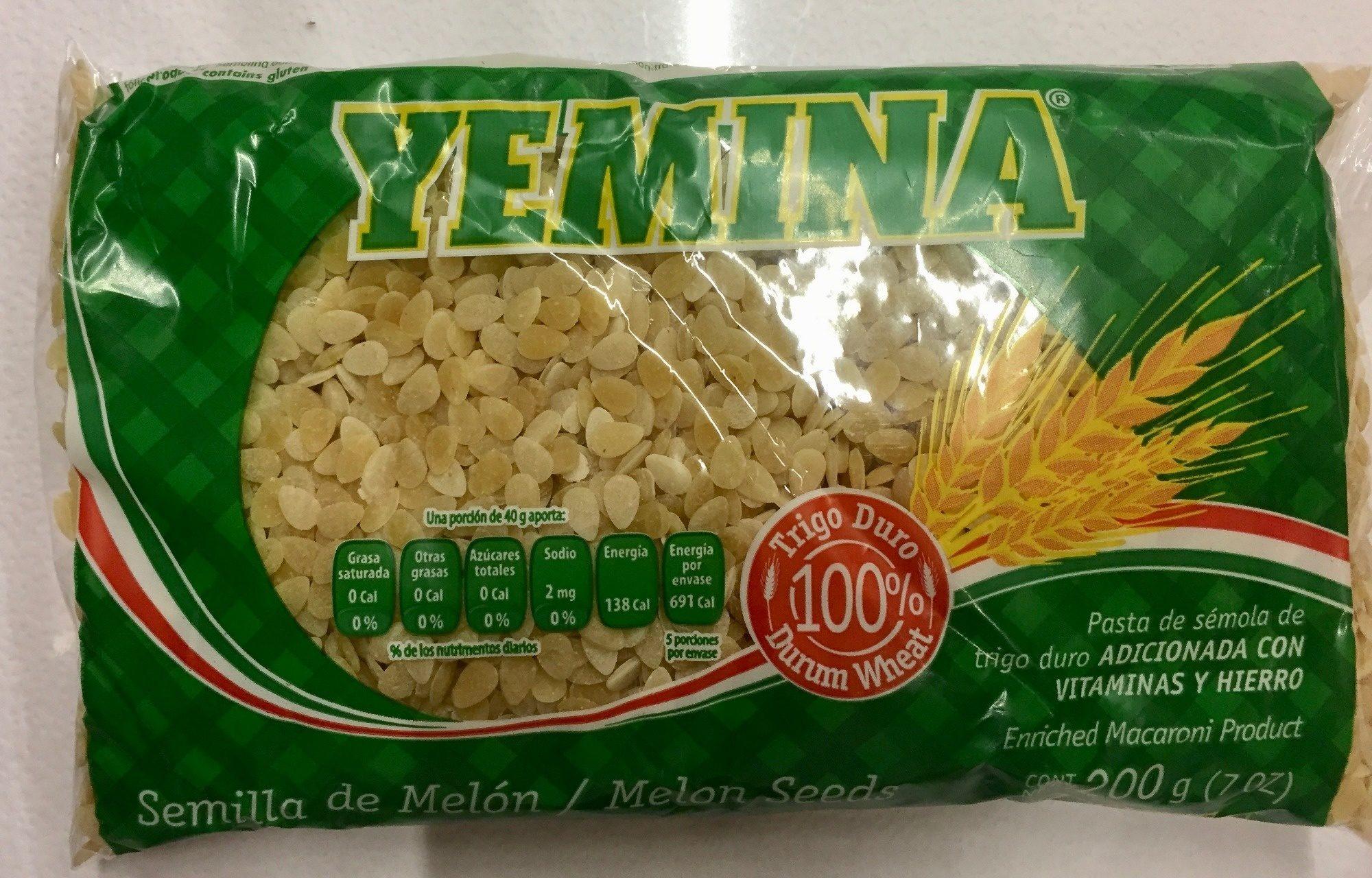 Yemina Semilla de melón - Producto - es