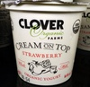 Cream on Top strawberry Organic Yogurt - Product