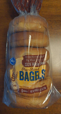 Pre-sliced bagels - Product - en