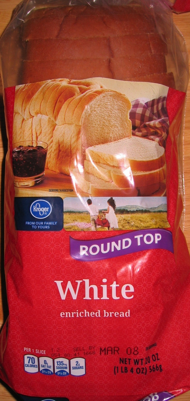 White enriched bread - Product