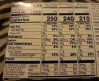 Chocolate Coated Mini Donuts - Nutrition facts
