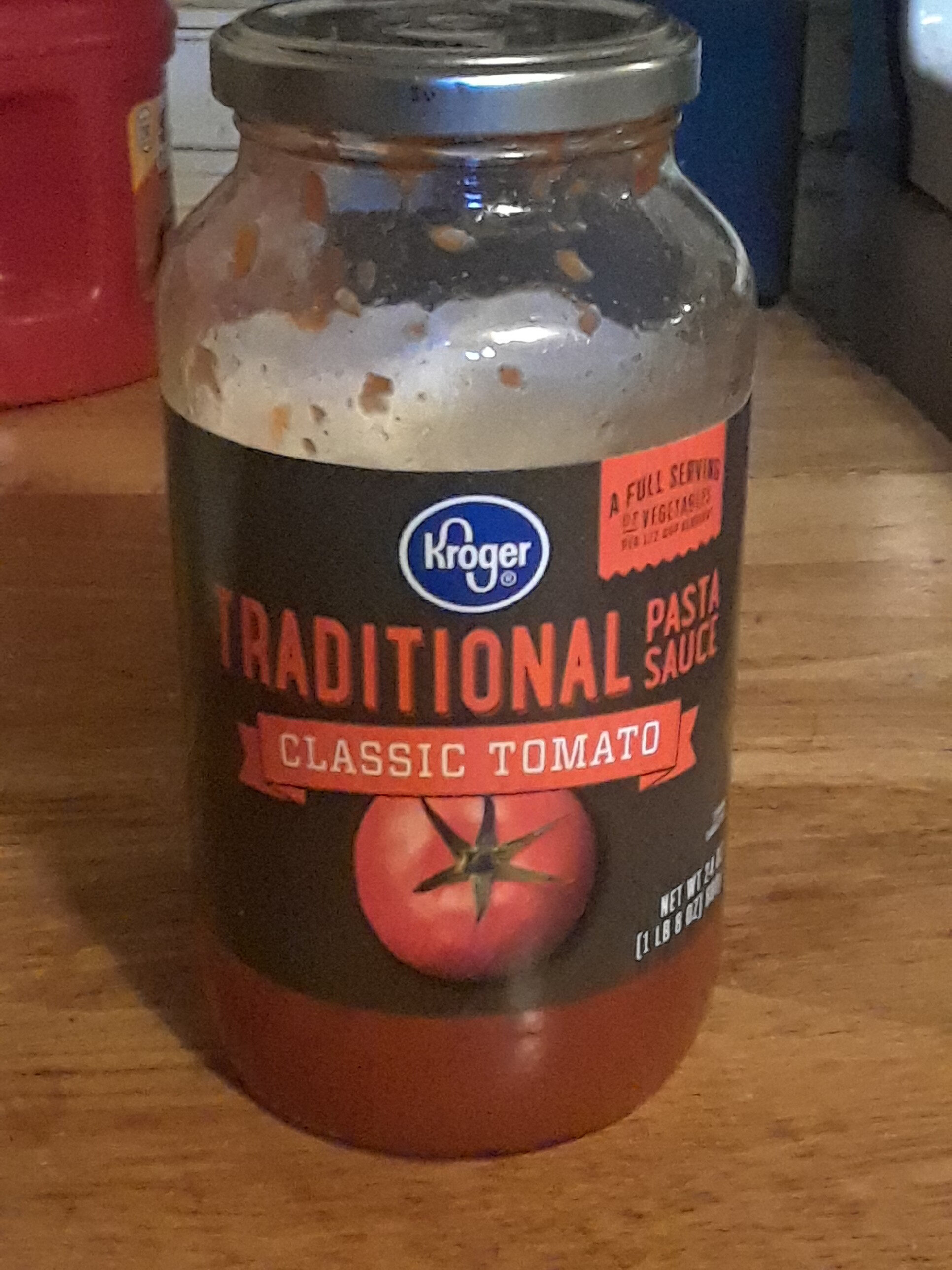 Pasta Sauce, Traditional - Product - en