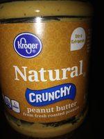 Kroger, crunchy peanut butter - Product - en