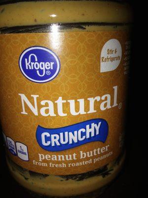 Kroger, crunchy peanut butter - Produit - fr