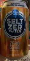 seltzer water - Prodotto - en