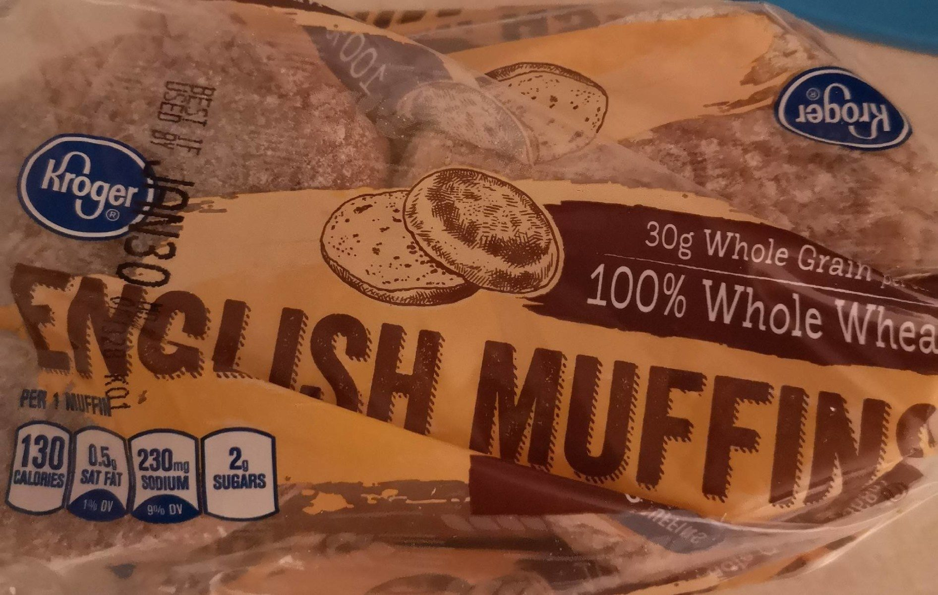 Kroger, english muffins - Product - en
