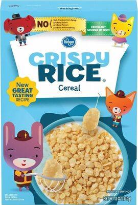 Crispy rice cereal - Product - en