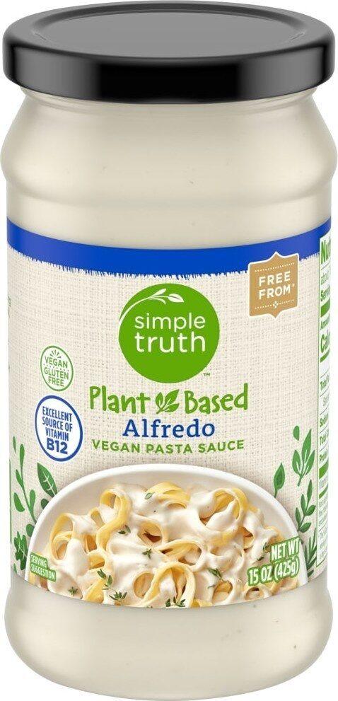 Plant based vegan alfredo pasta sauce - Product - en