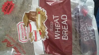 Sliced Wheat Bread - Product