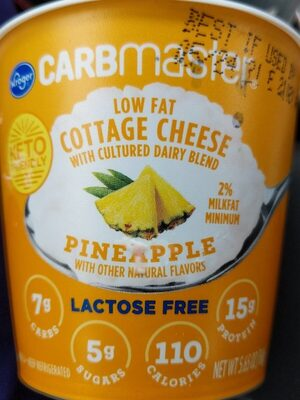 Carbmaster cottage cheese - Product - en