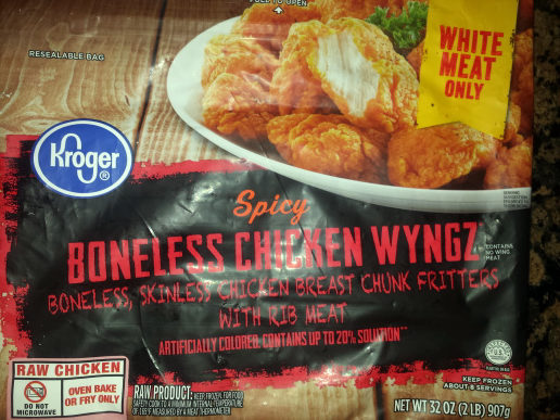 Boneless chicken wyngz - Product - en
