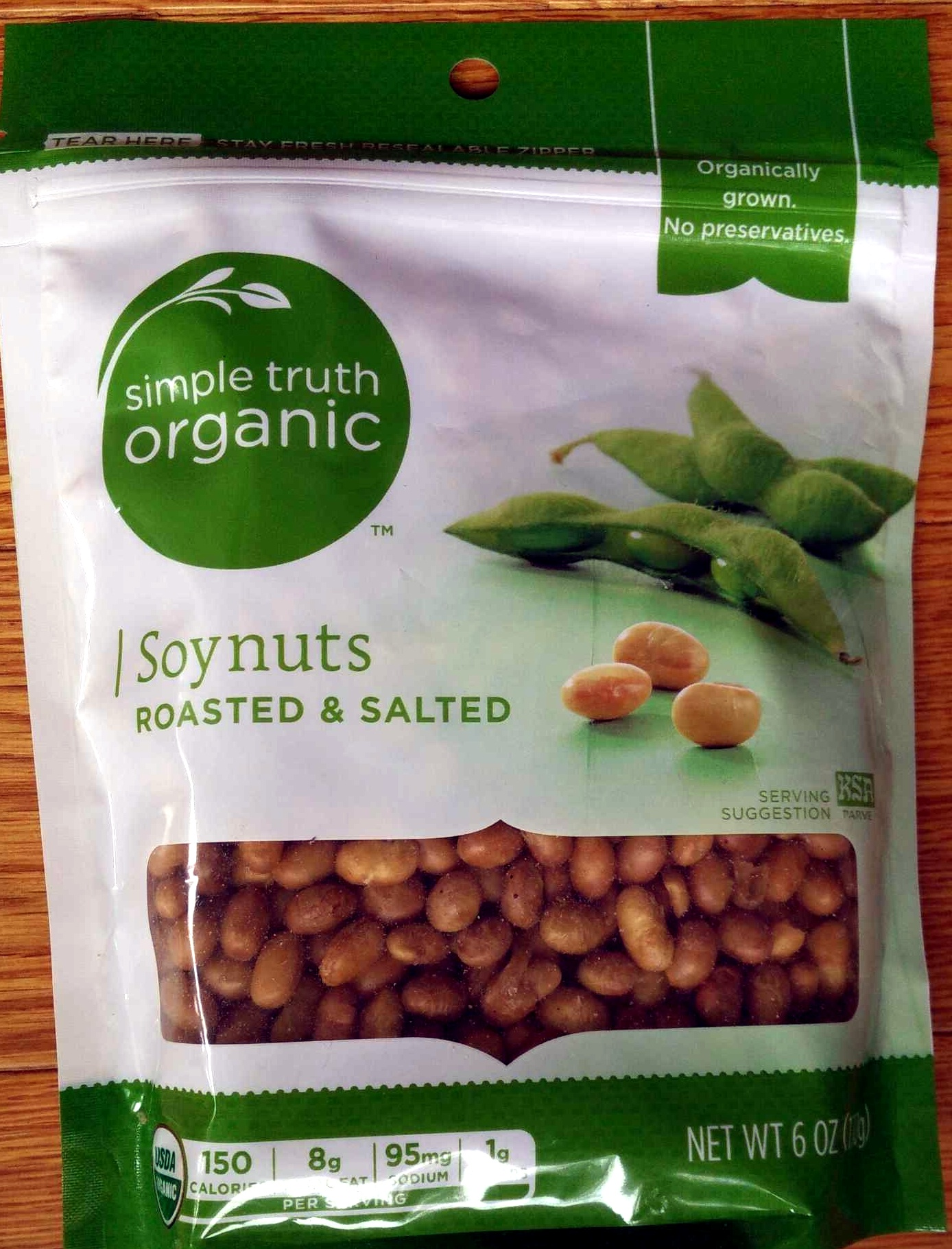 Soynuts Roasted & Salted - Produit