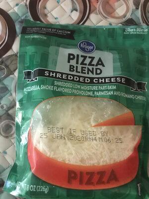 Kroger, pizza finely shredded cheese blend - Product - en