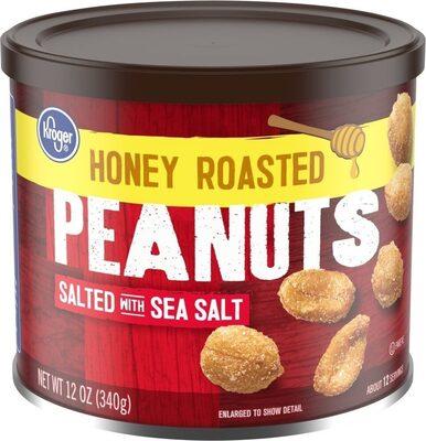 Honey roasted peanuts - Produit - en