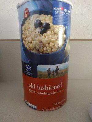 Old Fashioned 100% Whole Grain Oats - Produit