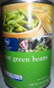 cut green beans - Produit