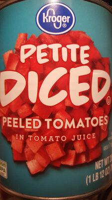 Petite Diced Peeled Tomatoes - Product - en