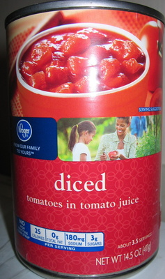 Diced tomatoes in tomato juice - Product