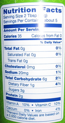 Tomato Paste - Nutrition facts