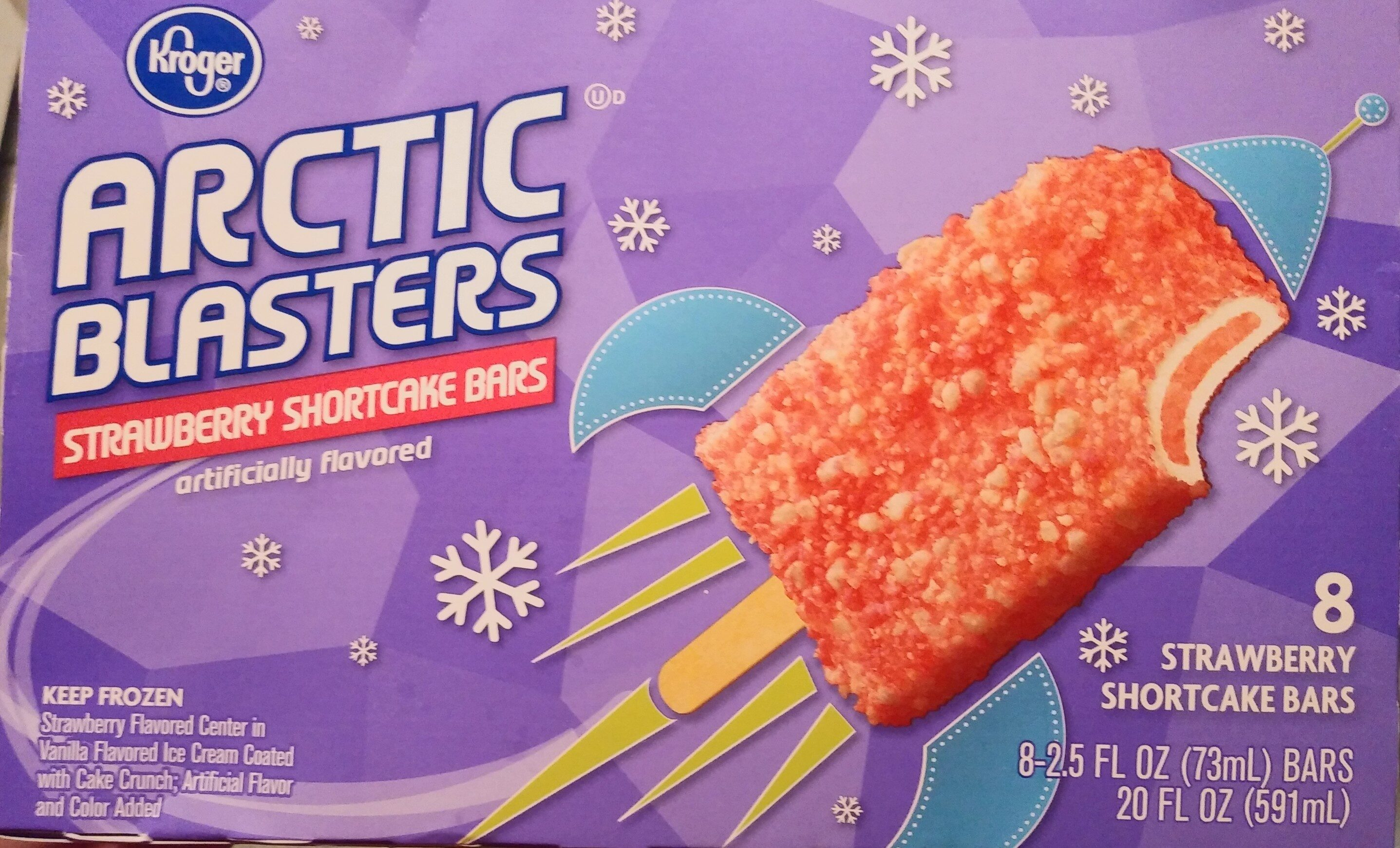 Strawberry Shortcake Bars - Product - en