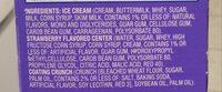 Strawberry Shortcake Bars - Ingredients - en