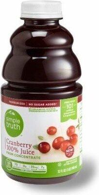 Cranberry juice - Product - en