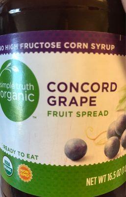 Fruit Spread, Concord Grape - Produit
