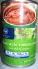 italian style tomato paste - Produit