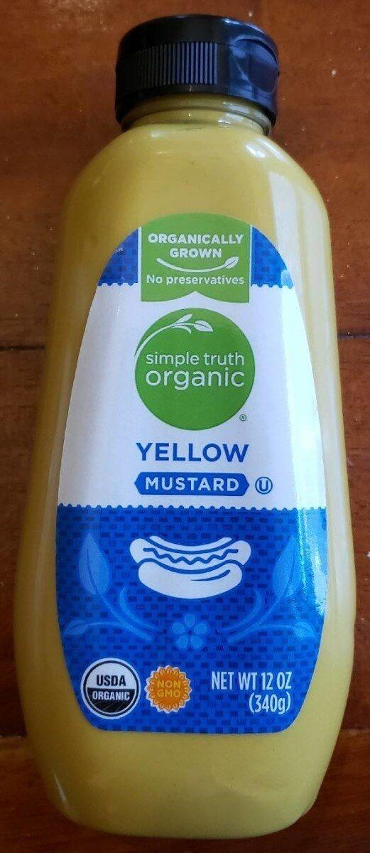 Yellow mustard - Producto - en