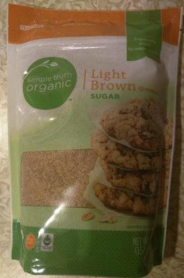 Light brown sugar - Product
