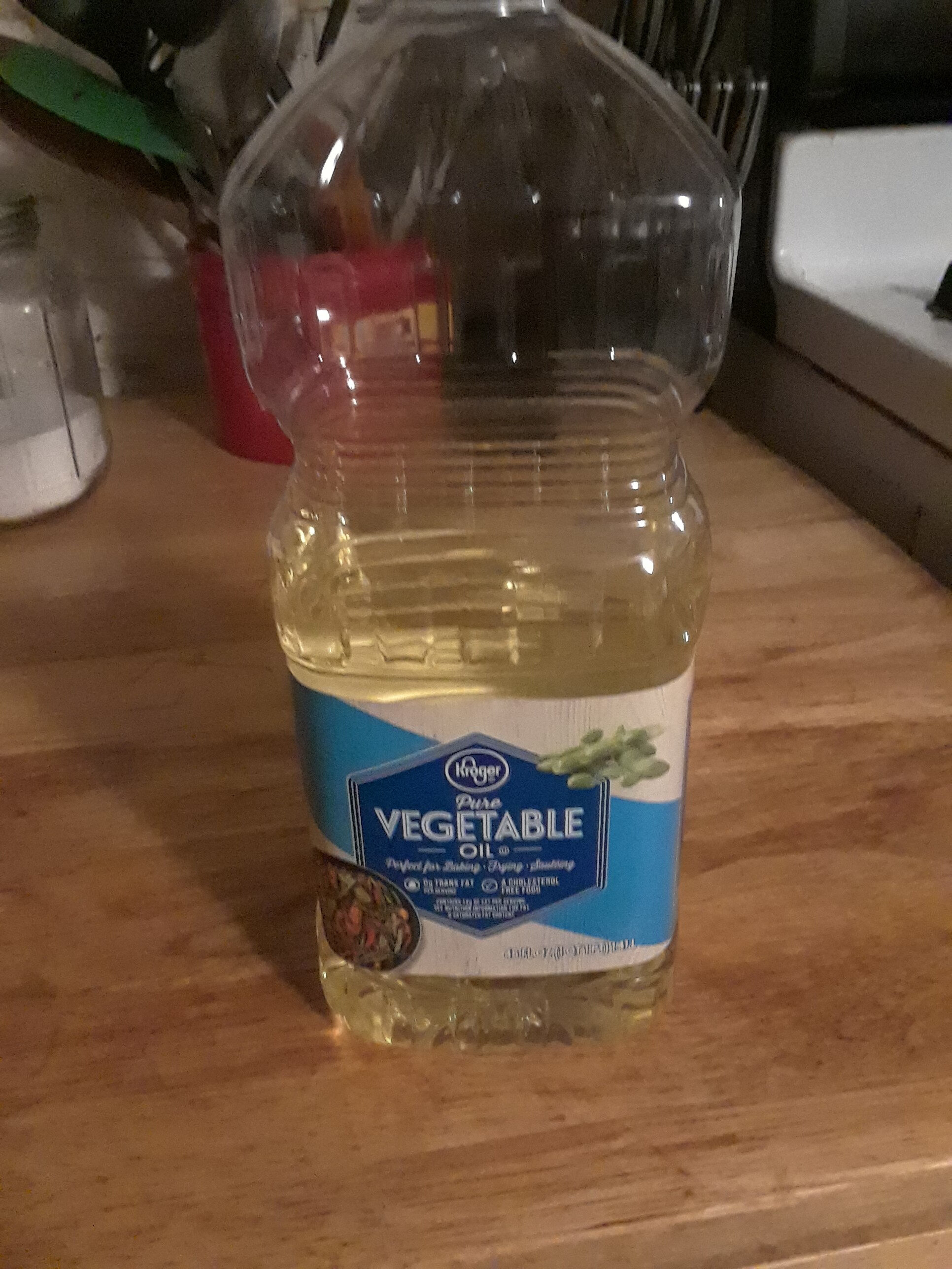 Pure Vegetable Oil - Product - en