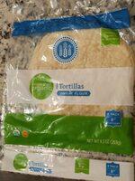 Organic tortillas wheat flour - Product - en
