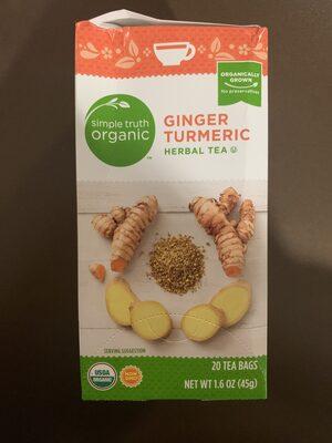 Ginger Turmeric Herbal Tea - Product - en
